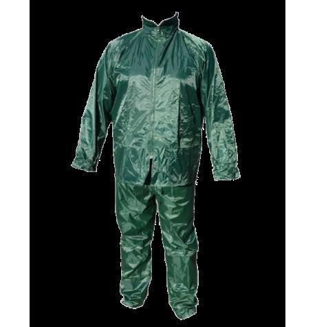 Αδιάβροχο κοστούμι PVC με κουκούλα