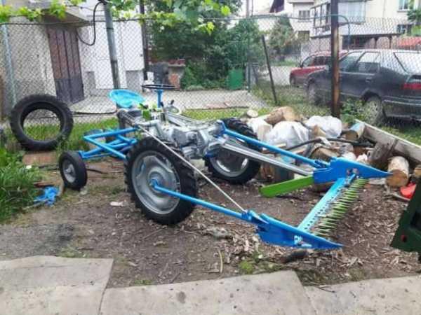 αυτοκινούμενο χορτοκοπτικό μηχάνημα