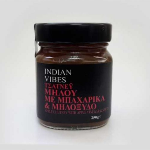 INDIAN VIBES ΤΣΑΤΝΕΥ ΜΗΛΟΥ ΜΕ ΜΗΛΟΞΥΔΟ ΚΑΙ ΜΠΑΧΑΡΙΚΑ