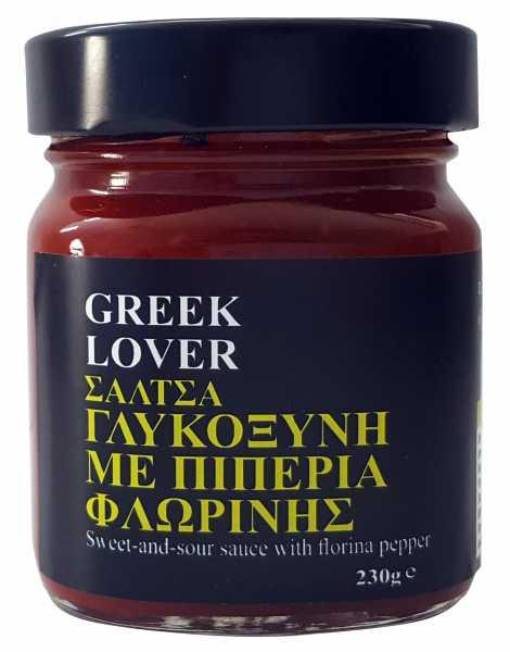 GREEK LOVER ΤΣΑΤΝΕΥ ΓΛΥΚΟΞΥΝΟ ΜΕ ΠΙΠΕΡΙΑ ΦΛΩΡΙΝΗΣ (ελαφρώς πικάντικο)