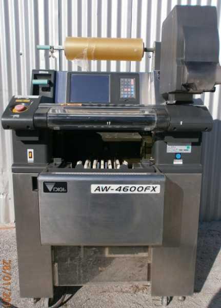 Αυτοματη Μηχανη Συσκευασιας Τροφιμων (Strech film) AW 4600 FX